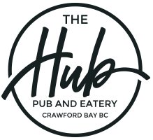 The Hub Pub & Eatery | Crawford Bay, BC
